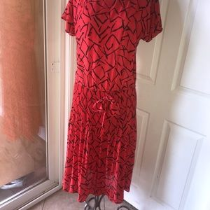 JB Too collection red antique dress